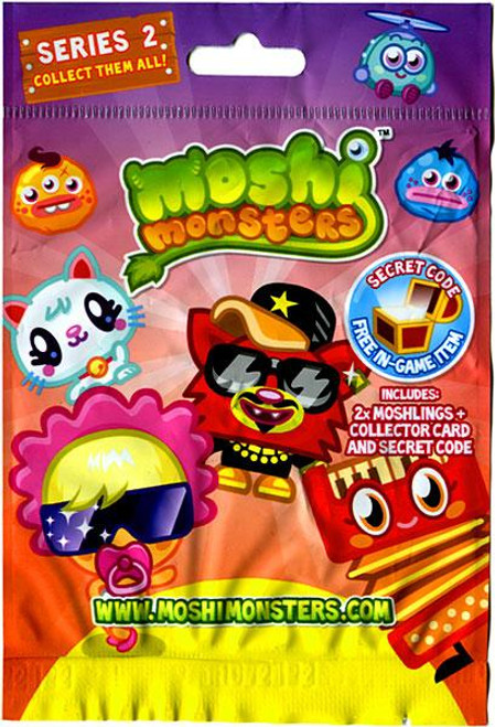 Moshi Monsters Moshlings Series 2 Mini Figure 2-Pack