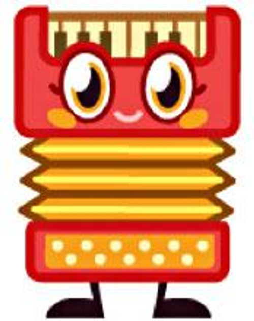 Moshi Monsters Moshlings Series 2 Plinky 1 1/2-Inch Mini Figure #106