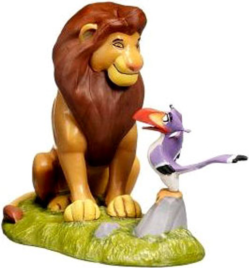 Disney The Lion King Mufasa with Zazu Exclusive 3-Inch PVC Figure [Loose]