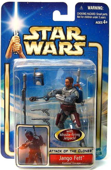 Star Wars Attack of the Clones Saga 2002 Jango Fett Action Figure [Kamino Escape]