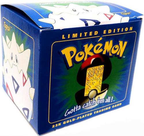 Nintendo Pokemon 23K Gold-Plated Trading Card Togepi