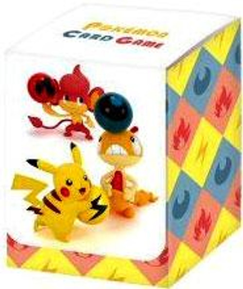 Pokemon Black & White Pikachu, Pansear & Scraggy Deck Box