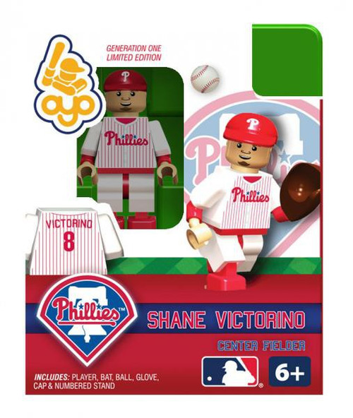 Philadelphia Phillies MLB Generation One Shane Victorino Minifigure