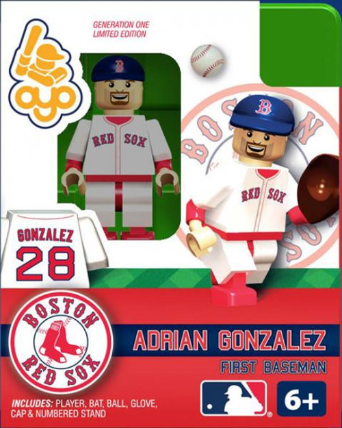 Boston Red Sox MLB Generation One Adrian Gonzalez Minifigure