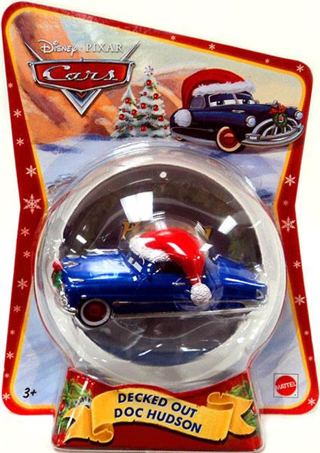 Disney Cars Christmas Package Decked Out Doc Hudson Exclusive Diecast Car [2011]