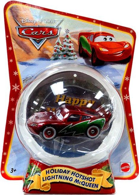 Disney Cars Christmas Package Holiday Hotshot Lightning McQueen Exclusive Diecast Car [2011]