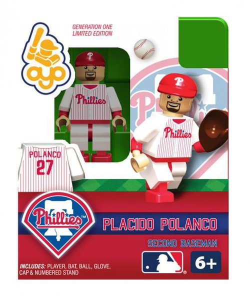 Philadelphia Phillies MLB Generation One Placido Polanco Minifigure