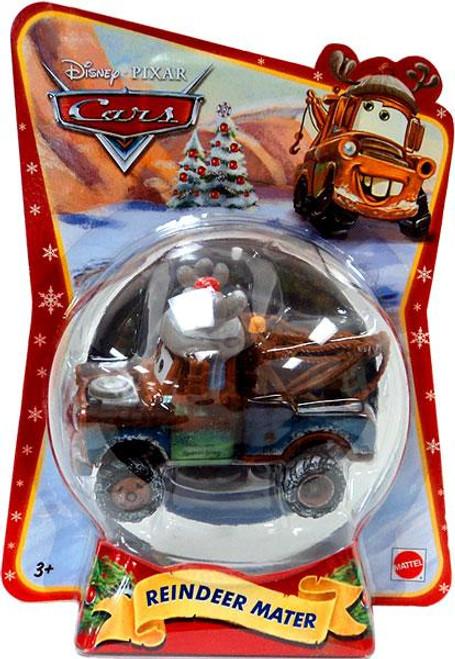 Disney Cars Christmas Package Reindeer Mater Exclusive Diecast Car [2011]