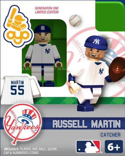 New York Yankees MLB Generation One Russell Martin Minifigure