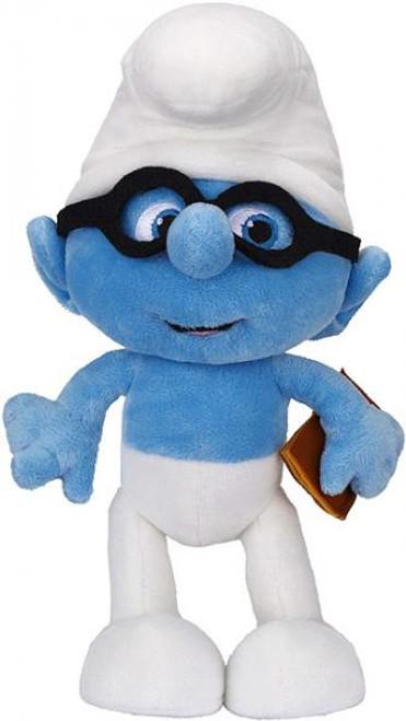 The Smurfs Movie Brainy 10-Inch Plush Figure