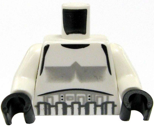 LEGO Star Wars Minifigure Parts Stormtrooper Armor with Black Gloves Loose Torso [Loose]