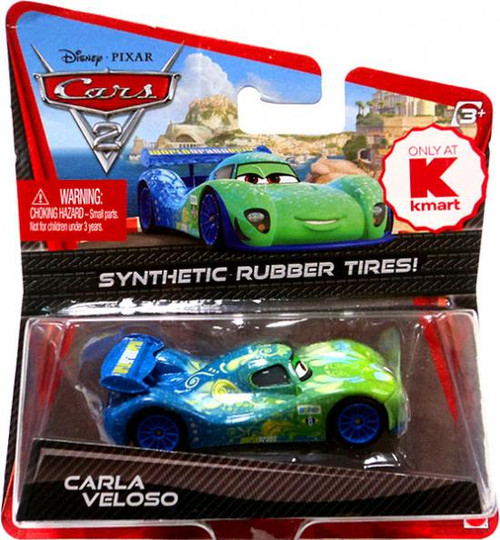 Disney Cars Cars 2 Synthetic Rubber Tires Carla Veloso Exclusive Diecast Car