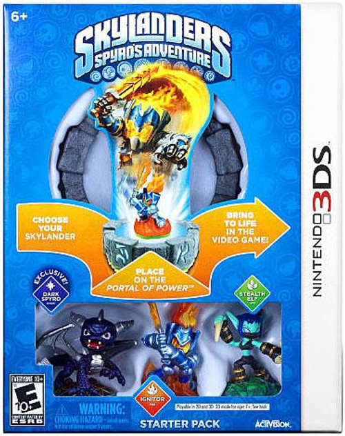 Skylanders Nintendo 3DS Spyro's Adventure Starter Pack