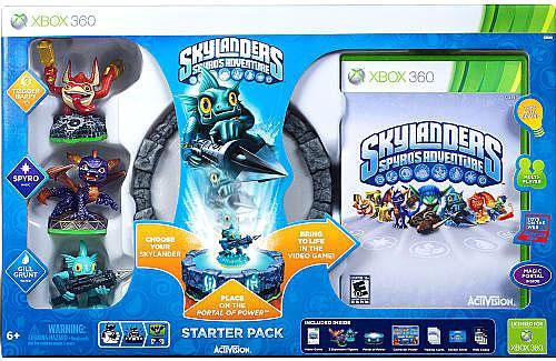 Skylanders xBox 360 Spyro's Adventure Starter Pack