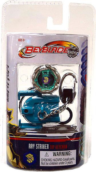 Beyblade Metal Fusion Series 5 Ray Striker Keychain