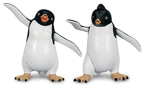 Happy Feet Two Raul & Lombardo Mini Figure 2-Pack