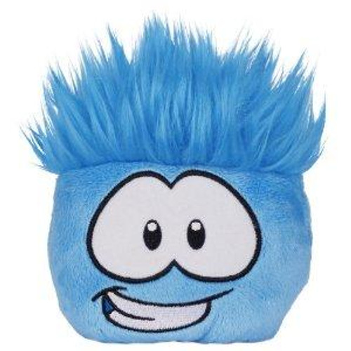 Club Penguin Series 11 Blue Puffle 4-Inch Plush