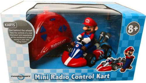 Super Mario Mario Kart Wii Mini Radio Control Kart Mario R/C Vehicle