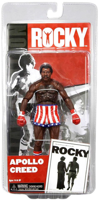 NECA Rocky Series 1 Apollo Creed Action Figure [Pre Fight]