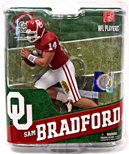 McFarlane Toys NCAA College Football Sports Picks Series 4 Sam Bradford Action Figure