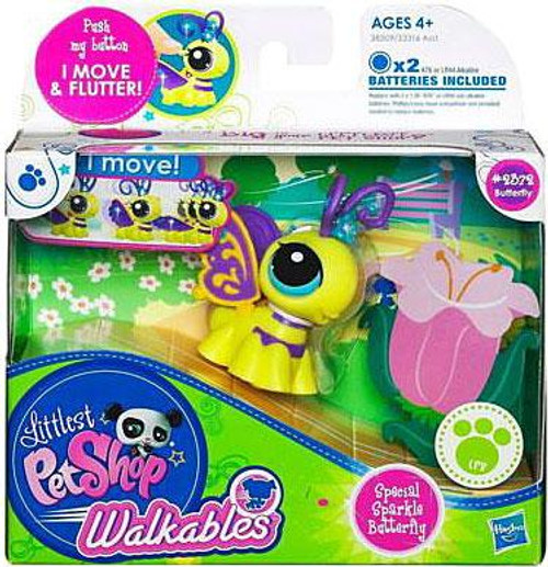 Littlest Pet Shop Walkables Butterfly Figure #2372 [Special Sparkle]