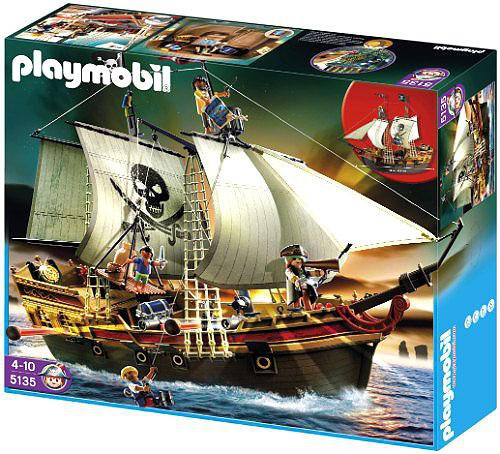 Playmobil Pirates Pirate Ship Set #5135