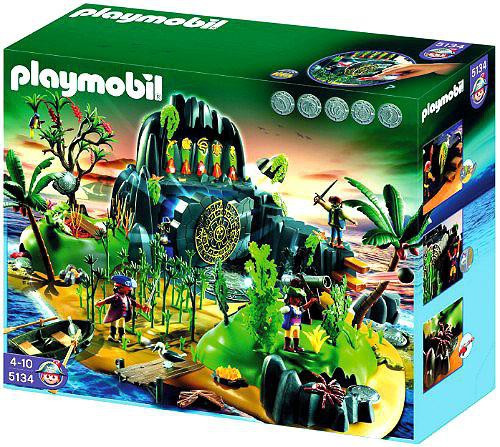 Playmobil Adventure Treasure Island Set #5134