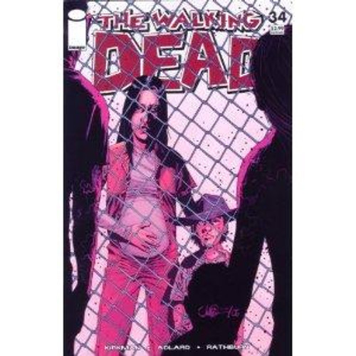 Image Comics The Walking Dead Comic Book #34