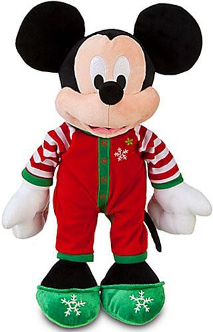 Disney Share the Magic Holiday Pajamas Mickey Mouse Exclusive 13-Inch Plush