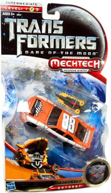 Transformers Dark of the Moon Mechtech Track Battle Roadbuster Exclusive Deluxe Action Figure