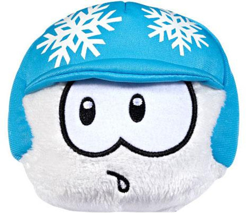Club Penguin White Puffle Exclusive 4-Inch Plush [Snowflake Helmet Puffle]