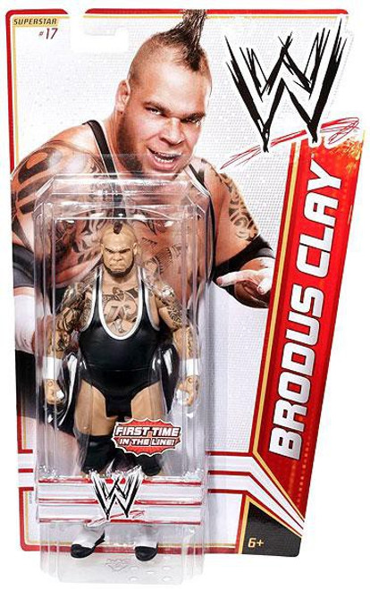 WWE Wrestling Series 15 Brodus Clay Action Figure #17