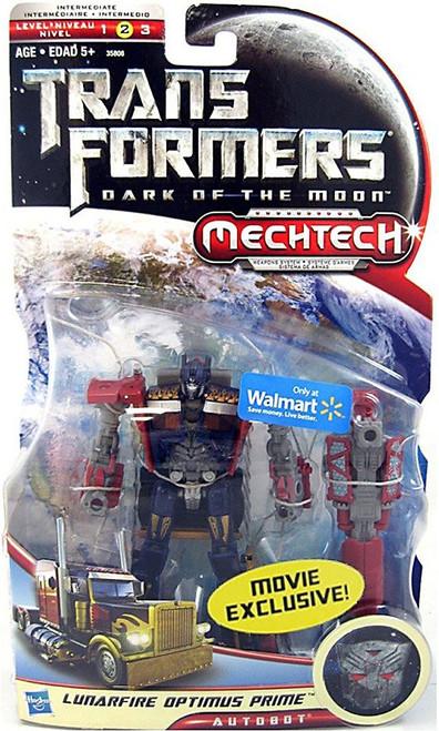Transformers Dark of the Moon Mechtech Lunarfire Optimus Prime Exclusive Deluxe Action Figure