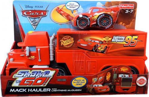Fisher Price Disney Cars Cars 2 Shake 'N Go Mack Hauler Exclusive Shake 'N Go Car [With Lightning McQueen]