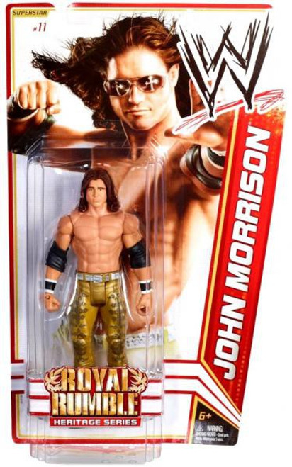 WWE Wrestling Series 14 John Morrison Action Figure #11
