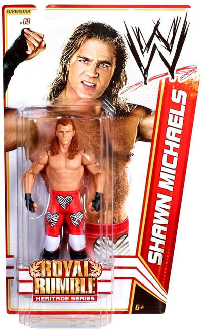 WWE Wrestling Series 14 Shawn Michaels Action Figure #8