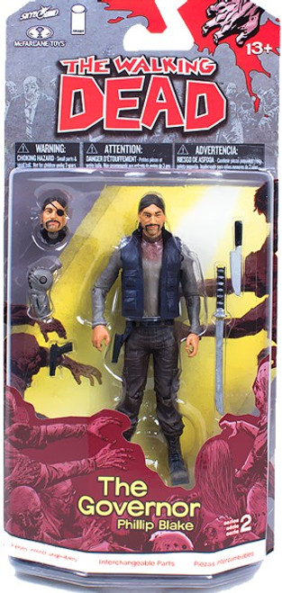 McFarlane Toys Walking Dead Comic Series 2 The Governor Action Figure [Phillip Blake]