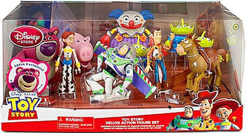 Disney Toy Story Deluxe Exclusive Action Figure Set