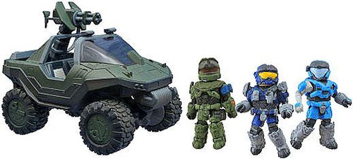 "Halo Minimates Exclusive Minifigure 4-Pack [M12 FAV ""Warthog"" with M41 LAAG & Noble Team]"