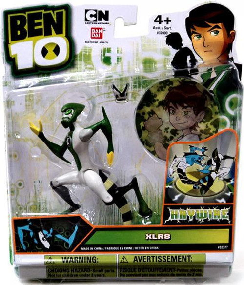 Ben 10 Ultimate Alien XLR8 Action Figure [Haywire]
