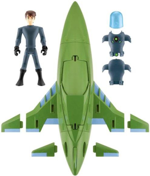 Ben 10 Ultimate Alien Rustbucket III Action Figure Vehicle