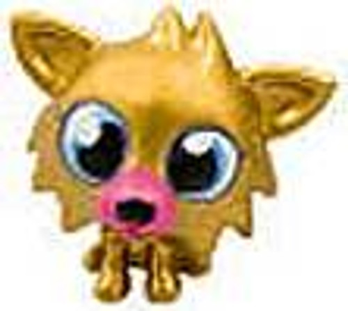 Moshi Monsters Moshlings Gold Limited Edition White Fang 1 1/2-Inch Mini Figure