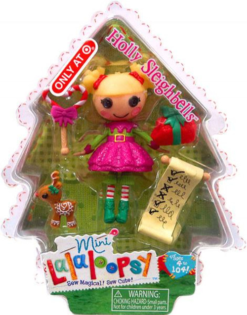 Lalaloopsy Holly Sleighbells Exclusive 3-Inch Mini Figure