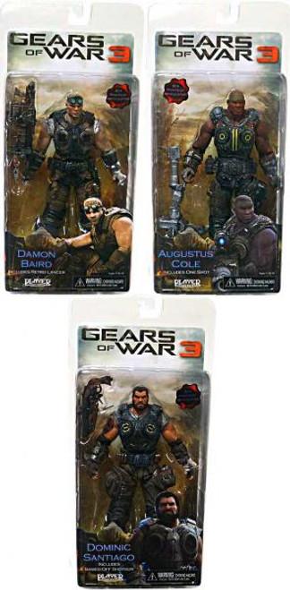 NECA Gears of War 3 Series 2 Set of 3 Action Figure