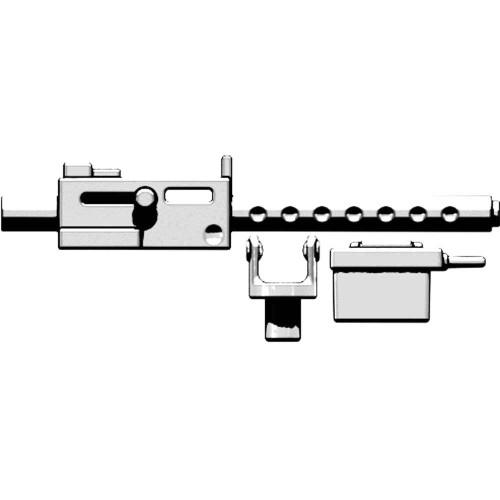 BrickArms Weapons M1919 Machine Gun 2.5-Inch [White]