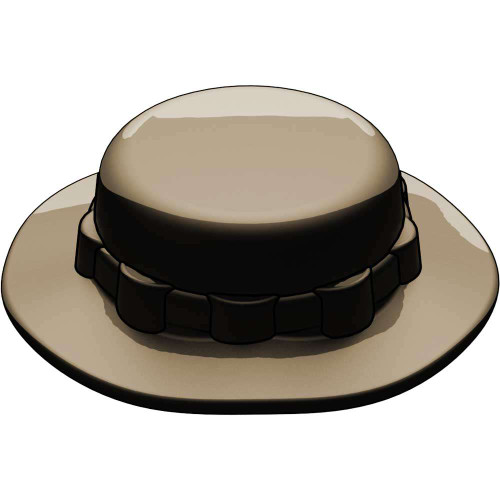 BrickArms Headgear Boonie Hat 2.5-Inch [Dark Tan]