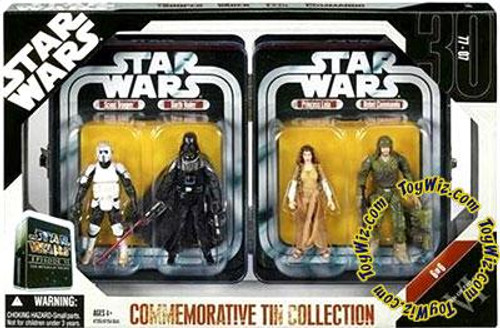 Star Wars Return of the Jedi Exclusives 2006 Episode VI Commemorative Tin Collection Exclusive Action Figure Set #6 of 6
