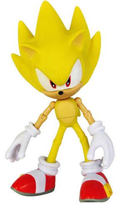 Sonic The Hedgehog 20th Anniversary Sonic Through Time Super Sonic Action Figure [Modern Loose]