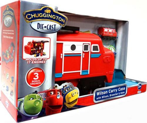 Chuggington Wilson Carry Case Diecast Playset