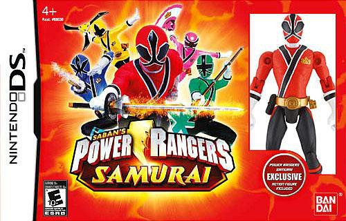 Nintendo DS Power Rangers Samurai Exclusive Video Game